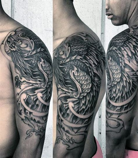 phoenix tattoo men 60 designs for a 1 400 year bird