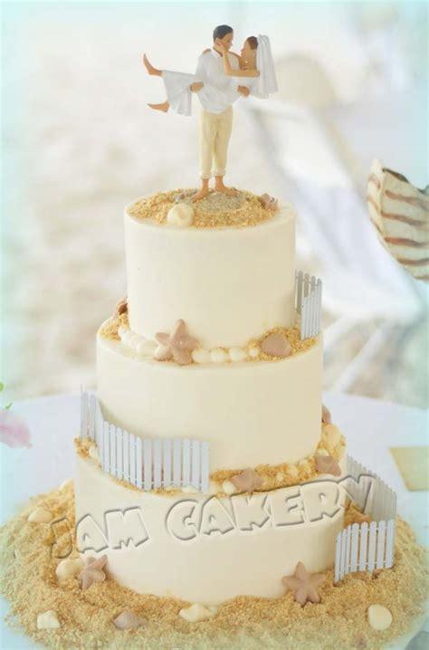 Beach Themed Home Decor by Beach Wedding Cake J A M Cakery