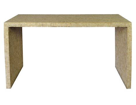 Parsons Console Table by Mosaic Bone Parsons Console Table The Local Vault