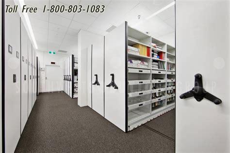 Compliant & Safe High Density Storage   Mobile Track