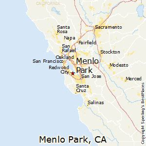 menlo park california map best places to live in menlo park california