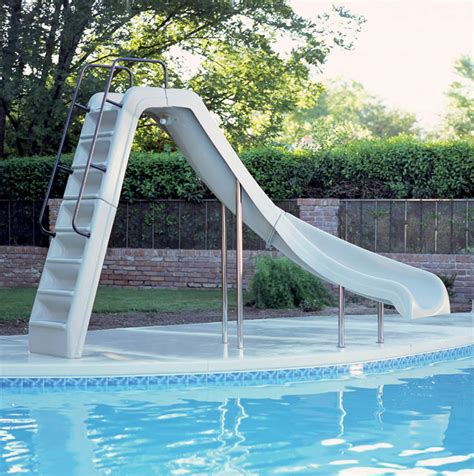 Backyard Pool Slides Custom Pool Slides For Inground Pools Studio Design Gallery Best Design