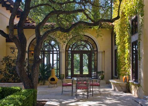 Villa Patio by Barton Creek Italian Villa Patio Mediterranean