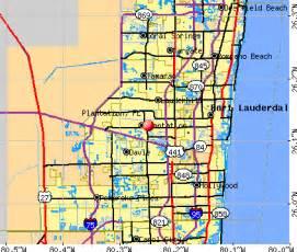where is plantation florida on a map plantation florida fl 33322 33323 profile population