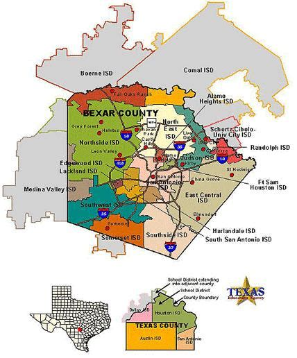 texas school districts map texas school texas school districts area