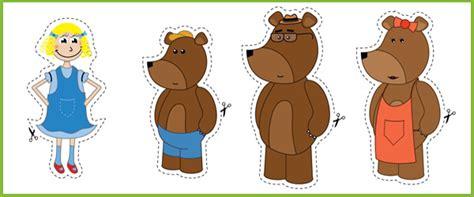 goldilocks amp the three bears stick puppets free early