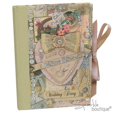 VINTAGE WEDDING DIARY   Planner/Planning Book/Journal