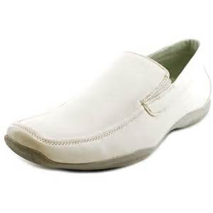 Masimo new york europa men faux leather white loafer loafers
