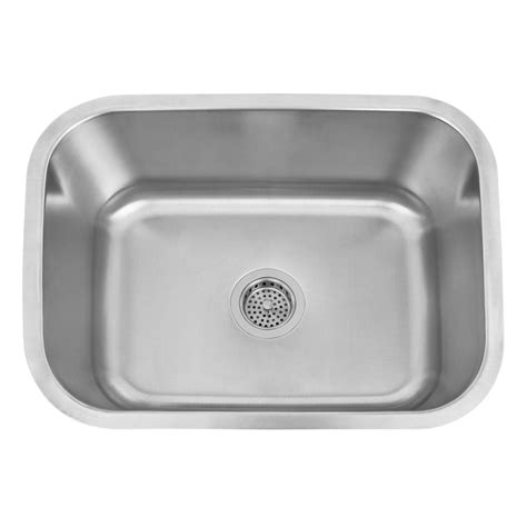 infinite rectangular stainless steel undermount bar sink