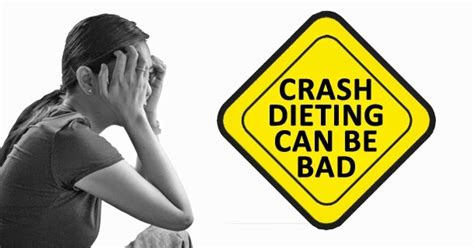 7 Reasons Why A Crash Diet Is A Bad Idea by Is Gm Diet A Crash Diet Pros Cons Of General Motors Diet
