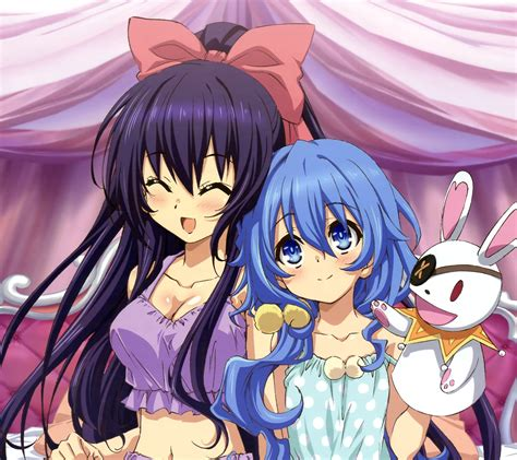 wallpaper android date a live date a live 2 tohka yatogami android wallpaper yoshino