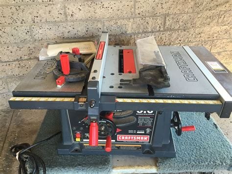 craftsman 137 table saw craftsman table saw model 137 218100 with manual
