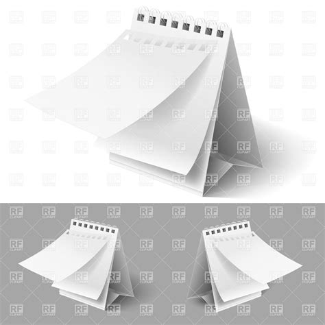 blank daily flip calendar blank table flip calendars with tear off first page