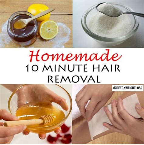how to make wax at home for hair removal in 10 minutes