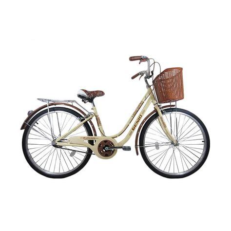 Genio Pelindung Rantai Sepeda jual genio alaska compact sepeda keranjang lis