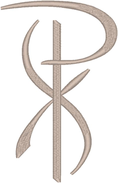 px christian tattoo meaning chi rho 9 embroidery design
