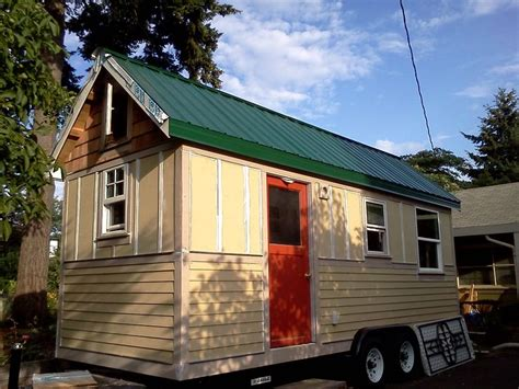 bayside bungalow tiny house built using tumbleweed fencl tiny house interior and exterior design write teens tiny