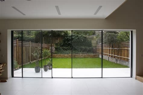 modern patio doors bi fold doors vs sliding doors
