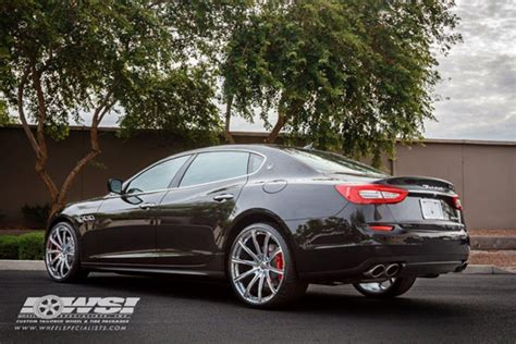 Maserati Quattroporte Rims by Chrome Rims For Maserati Giovanna Luxury Wheels