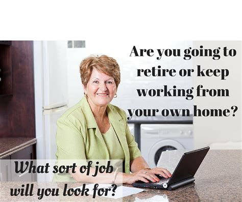 what are the best work at home for seniors