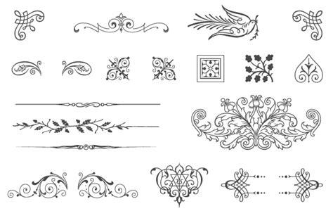 vintage design elements corners vector free download free vectors 85 free vintage vector ornaments vincent