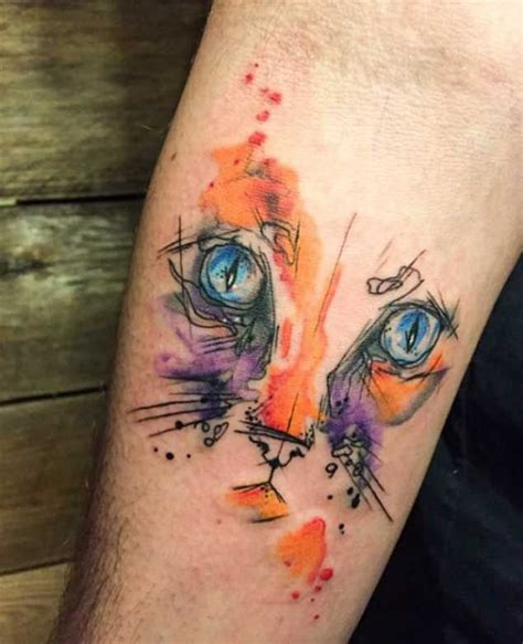 watercolor tattoos cat the 257 best images about tattoos on celtic