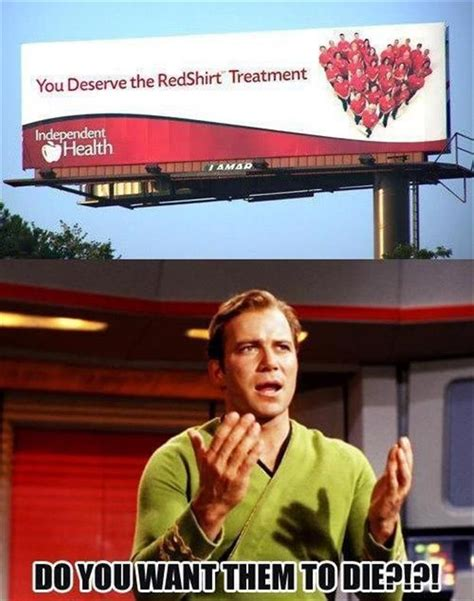 Star Trek Red Shirt Meme - a red shirt star trek funny pictures dump a day