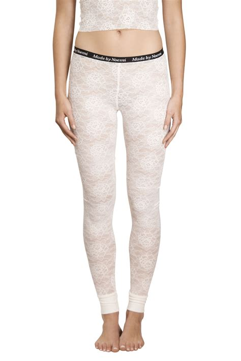 Lace Legging white lace new made by noemi