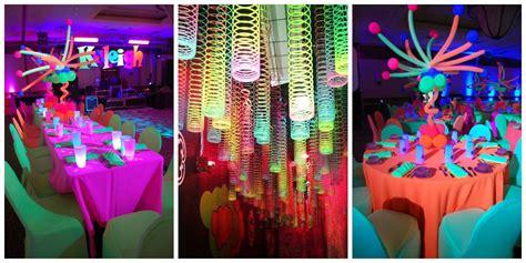 ideas para decorar un salon de zumba neon party ideas para la decoraci 243 n outfit y