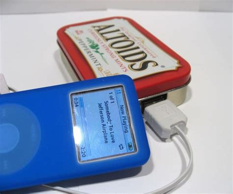 altoids tin phone charger altoids usb phone charger dudeiwantthat