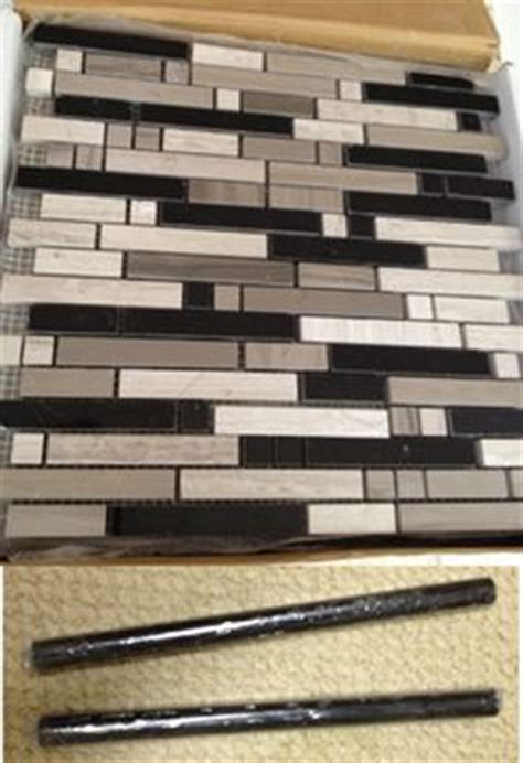 backsplash with pencil tile border kitchen ideas