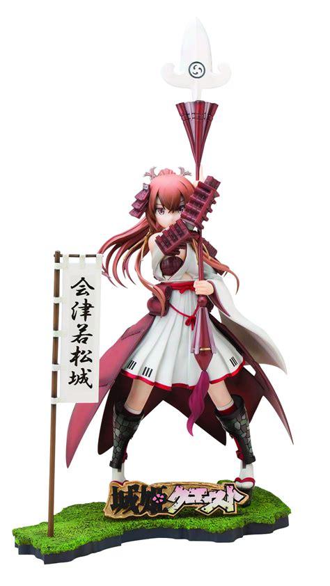 Figure Pvc Aizu Wakamatsu Shirohime Quest may158419 shirohime quest aizuwakamatsu castle 1 8 pvc