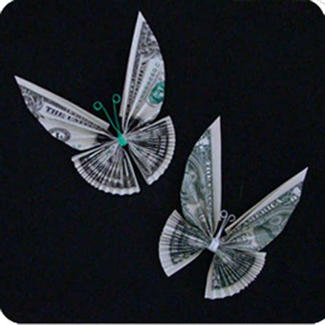 Money Origami Bow - 25 awesome money origami tutorials diy projects for