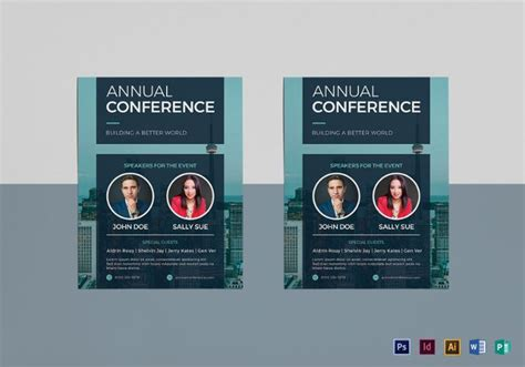 conference flyer template free 21 conference flyers free psd vector ai eps format