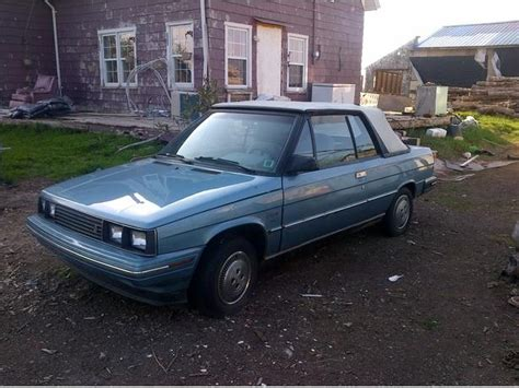 renault alliance blue two 1985 renault alliance convertibles summerside pei