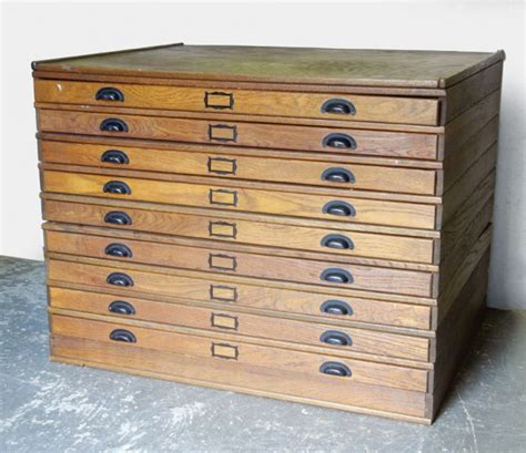 map drawer cabinet wood 301 moved permanently