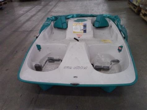 sun slider 5 person pedal boat with canopy kl industries sun slider adjustable 5 person pedal boat