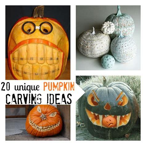pumpkin carving ideas for 20 unique pumpkin carving ideas c r a f t