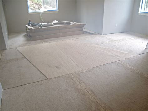 Substrate Flooring by Helicopter Pilot Recesses Lighting Into Wood Floor