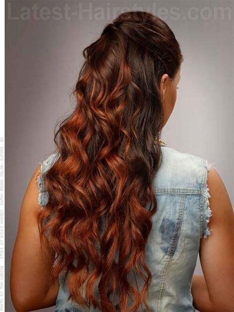 curly hairstyles for long hair back view 36 simple hairstyles that look anything but simple