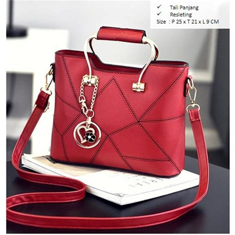 80552 Wine Pu Tas Import Tas Fashion Tas Batam High Quality jual b919 wine tas fashion import grosirimpor