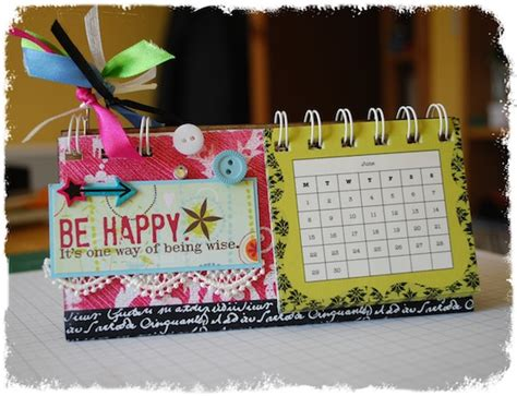 how to make your own desk calendar make your own desk calendar free craft class
