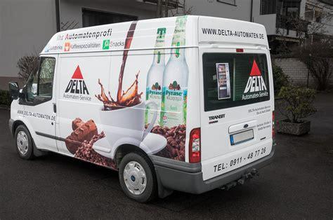 Fahrzeugbeschriftung N Rnberg by Fahrzeugbeschriftung Delta Automaten Gmbh Werbeagentur