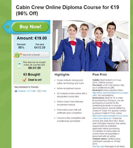 cabin crew diploma can you get a ryanair cabin crew with this 19 diploma
