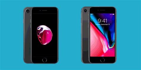 iphone 7 vs iphone 8 iphone 7 vs iphone 8 is it worth upgrading to apple s new iphone
