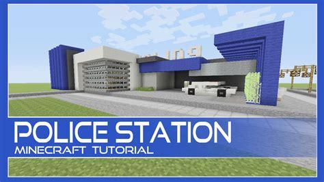 minecraft police police station tutorial minecraft xbox playstation pe pc