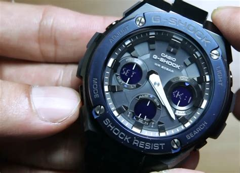 Jam Tangan Pria Casio G Shock Gst 210b 4adr Original casio g shock g steel gst s110bd 1a2 indowatch co id