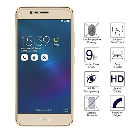 Diskon Tempered Glass K Box Asus Zenfone 2 Laser 6 Inch Ze601kl 2 pack orzero asus zenfone 3 max zc520tl tempered glass screen protector 0 26mm ebay