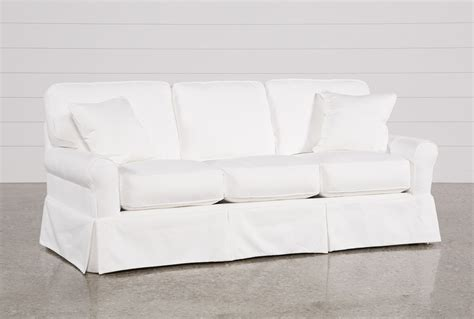sectional sofas living spaces carlyle slipcovered sofa living spaces
