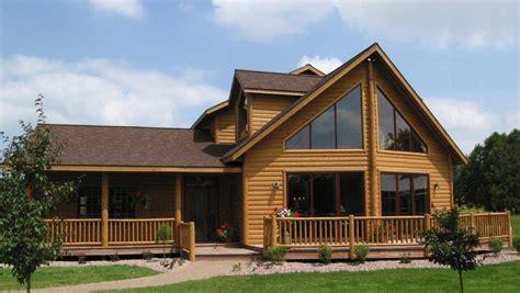 timber lodge homes